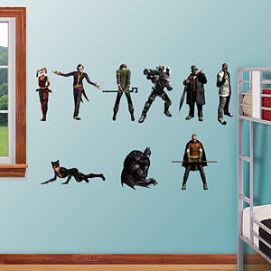 Batman Arkham City Collection Fathead Wall Decal